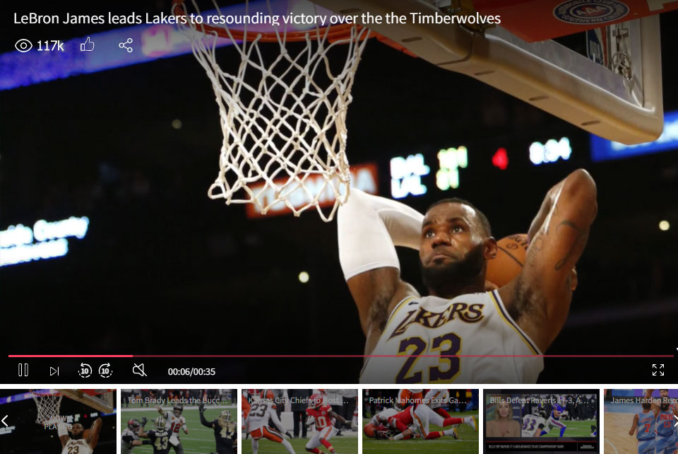 LeBron James leads Lakers to resounding victory over the the Timberwolves